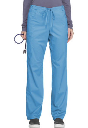 ScrubStar Women's Stretch Drawstring Pant Stretch Turquoise (77946-QSWM)