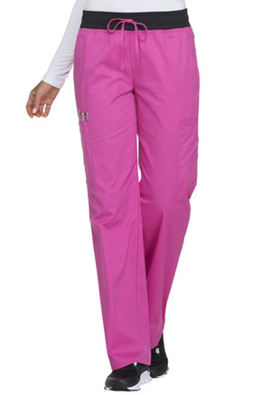 ScrubStar Women's Stretch Flex Drawstring Pant Stretch Shocking Pink (77953-KSWM)