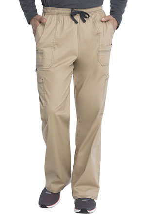 Dickies Gen Flex Men's Drawstring Cargo Pant in Dark Khaki (81003-KHIZ)