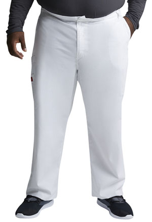 Dickies EDS Signature Men's Zip Fly Pull-On Pant in White (81006-WHWZ)