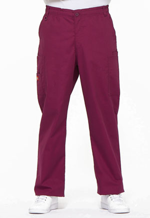 Dickies EDS Signature Men's Zip Fly Pull-On Pant in Wine (81006-WIWZ)