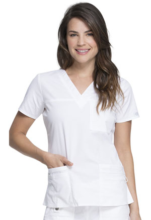 Gen Flex V-Neck Top (817455-DWHZ) (817455-DWHZ)