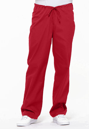 Dickies EDS Signature Unisex Drawstring Pant in Red (83006-REWZ)