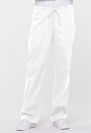Dickies EDS Signature Unisex Drawstring Pant in White (83006-WHWZ)