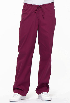 Dickies EDS Signature Unisex Drawstring Pant in Wine (83006-WIWZ)