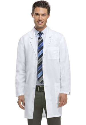Dickies 37 Unisex Lab Coat White (83402-DWHZ)