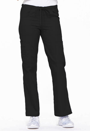 Dickies EDS Signature Low Rise Drawstring Cargo Pant in Black (85100-BLWZ)