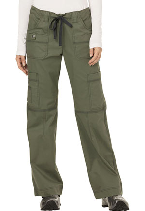 Dickies Gen Flex Low Rise Drawstring Cargo Pant in Olive (857455P-OLIZ)