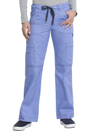 Dickies Gen Flex Low Rise Drawstring Cargo Pant in Ceil (857455-CBLZ)