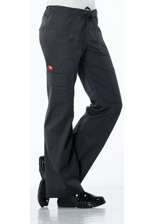 Dickies Low Rise Drawstring Cargo Pant Dark Pewter (857455-DKPZ)