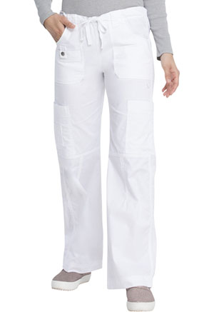 Dickies Gen Flex Low Rise Drawstring Cargo Pant in White (857455-DWHZ)