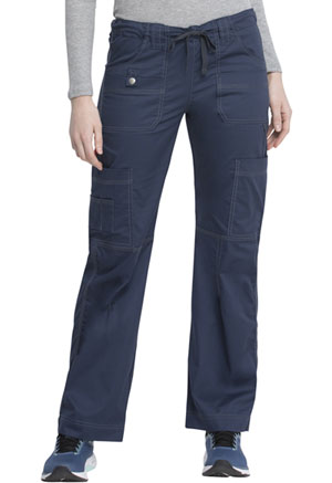 Dickies Gen Flex Low Rise Drawstring Cargo Pant in D-Navy (857455-NVYZ)