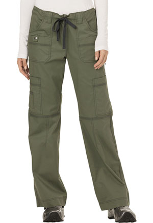 Dickies Gen Flex Low Rise Drawstring Cargo Pant in Olive (857455-OLIZ)