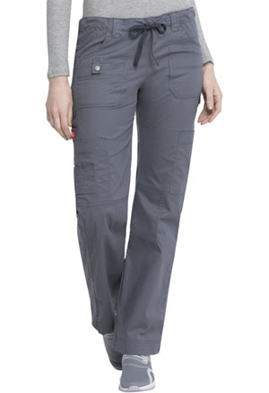 Dickies Gen Flex Low Rise Drawstring Cargo Pant in Light Pewter (857455-PEWZ)