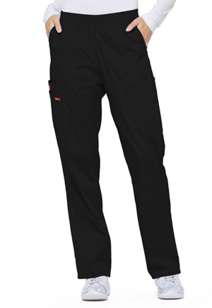 Dickies EDS Signature Natural Rise Tapered Leg Pull-On Pant in Black (86106-BLWZ)