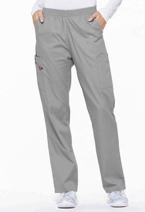 Dickies EDS Signature Natural Rise Tapered Leg Pull-On Pant in Grey (86106-GRWZ)