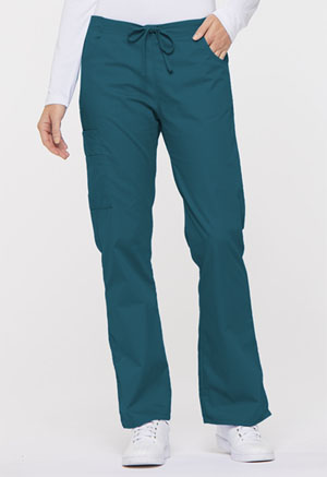 Dickies EDS Signature Mid Rise Drawstring Cargo Pant in Caribbean Blue (86206-CAWZ)
