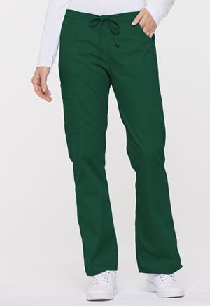 Dickies EDS Signature Mid Rise Drawstring Cargo Pant in Hunter (86206-HUWZ)