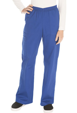 ScrubStar Women's Mechanical Stretch Pull-On Pant Blue (90031-UMWM)