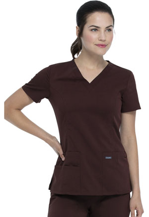 Sanibel V-Neck Top Espresso (9765-ESP)