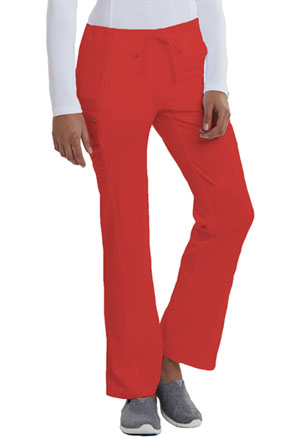 Low Rise Straight Leg Drawstring Pant (CA100P-RED)