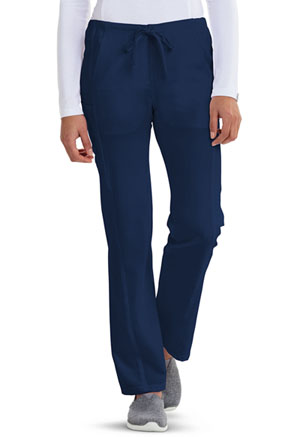 Low Rise Straight Leg Drawstring Pant (CA100T-NAV)