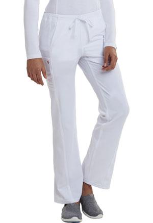 Low Rise Straight Leg Drawstring Pant (CA100T-WHT)