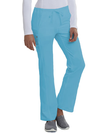 Careisma Low Rise Straight Leg Drawstring Pant Aqua Rush (CA100-ARH)