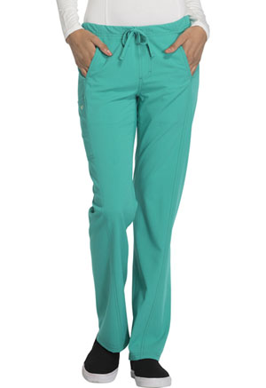 Careisma Low Rise Straight Leg Drawstring Pant Emerald Green (CA100-EMRG)