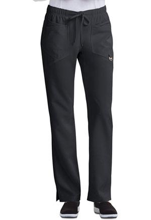 Low Rise Straight Leg Drawstring Pant (CA105AP-BLK)