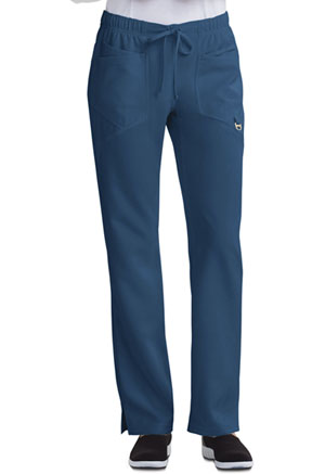 Careisma Low Rise Straight Leg Drawstring Pant Caribbean Blue (CA105A-CAR)