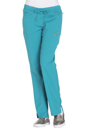 Careisma Low Rise Straight Leg Drawstring Pant Teal Blue (CA105A-TEA)