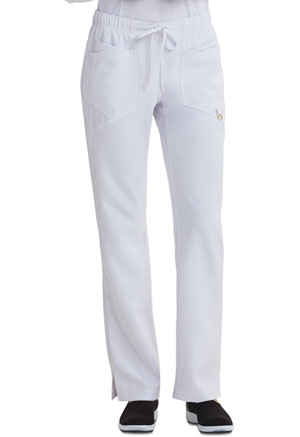 Careisma Low Rise Straight Leg Drawstring Pant White (CA105A-WHT)