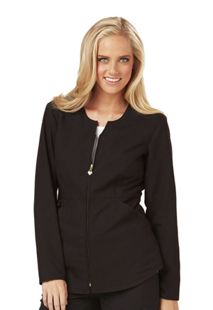 Careisma Zip Front Jacket Black (CA300-BLKZ)