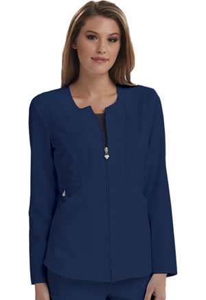 Careisma Zip Front Jacket Navy (CA300-NAV)