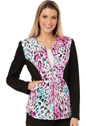 Careisma Zip Front Jacket La Vida Leopard (CA304-LVLD)