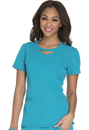 Careisma Round Neck Top Teal (CA602-DTLZ)