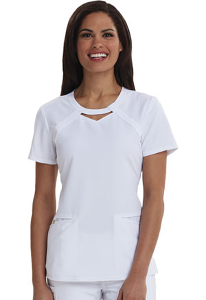 Careisma Round Neck Top White (CA602-WHT)