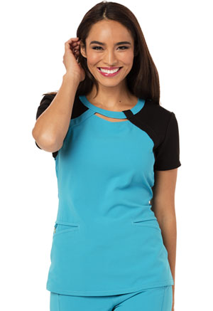 Careisma Careisma Fearless Women's Round Neck Top Blue