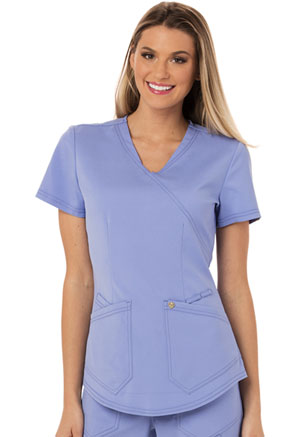 Careisma Mock Wrap Top Ciel (CA610A-CIE)