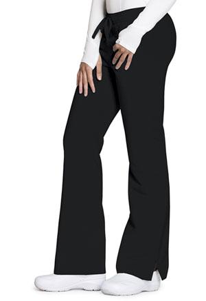Code Happy Code Happy Cloud Nine Women's Mid Rise Moderate Flare Leg Pant Black