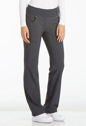 iFlex Mid Rise Straight Leg Pull-on Pant (CK002-PWT) (CK002-PWT)