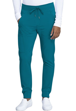 Cherokee Men's Natural Rise Jogger Caribbean Blue (CK004A-CAPS)