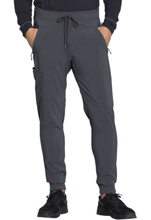 Cherokee Men's Natural Rise Jogger Pant Pewter (CK004A-PWPS)