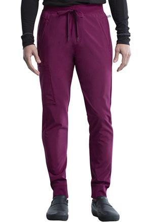 Cherokee Men's Mid Rise Jogger Wine (CK004A-WNPS)