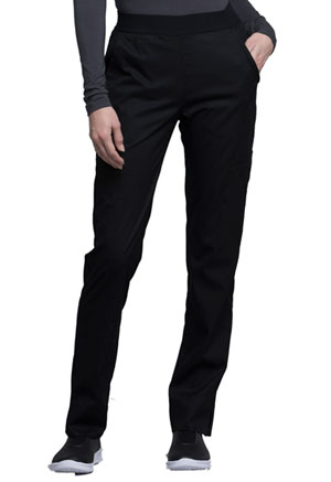Cherokee Natural Rise Tapered Leg Pant Black (CK040-BLKV)