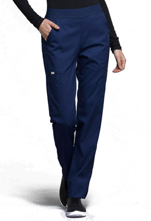 Cherokee Natural-Rise Tapered Leg Pant Navy (CK040-NAVV)
