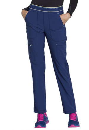 Cherokee Mid Rise Tapered Leg Pull-on Pant Navy (CK050A-NYPS)