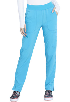 Cherokee Mid Rise Tapered Leg Pull-on Pant Blue Jay (CK065A-BJYA)