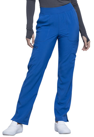 Cherokee Mid Rise Tapered Leg Pull-on Pant Royal (CK065A-RYPS)